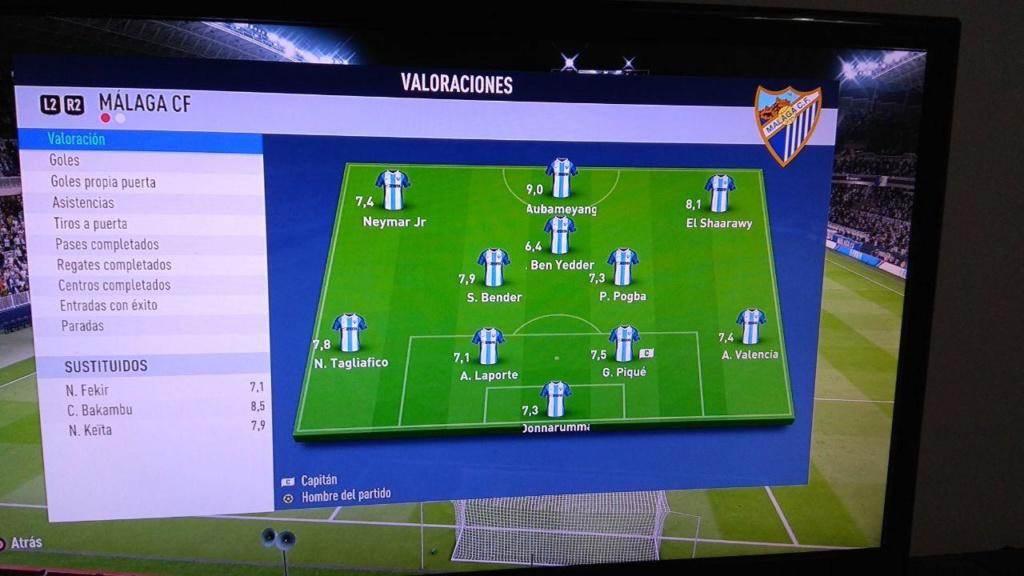 Amistoso Málaga 2-2 Manchester City - 14/04/2019 911