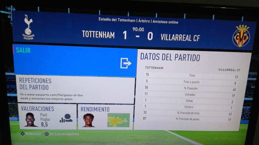 Amistoso Tottenham 1-0 Villarreal, 09/01/2019 Photo_15