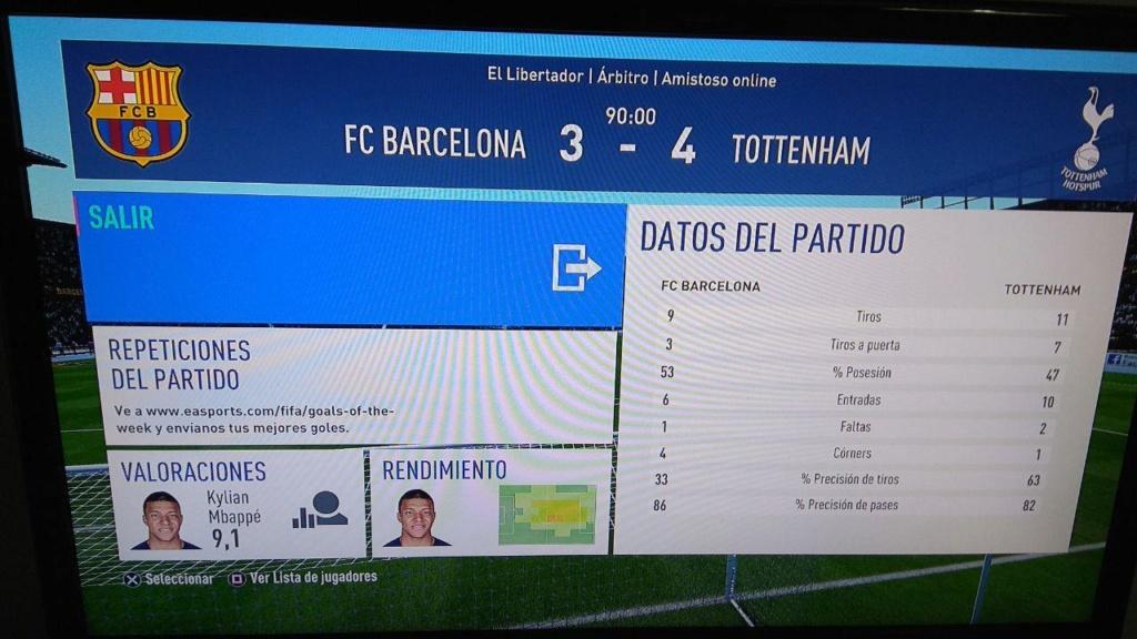 Amistoso Barcelona 3-4 Tottenham, 10/01/2019 Photo_18