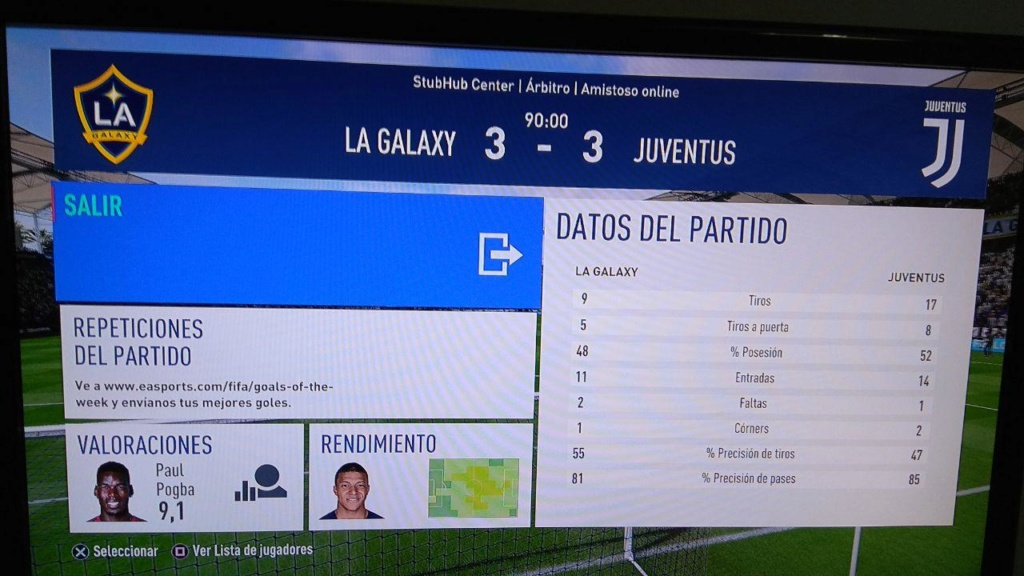 Amistoso LA Galaxy 3-3 Juventus, 23/02/2019 Photo_21