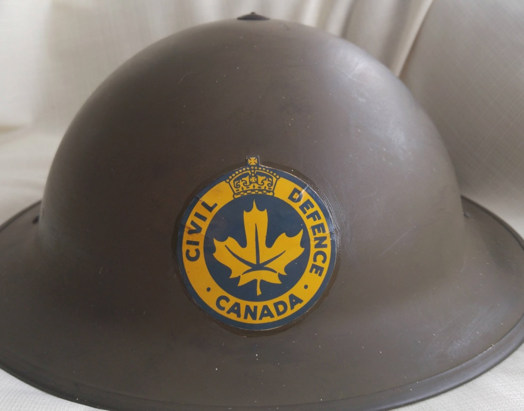 Almost perfect Canadian MkII helmet 20180711