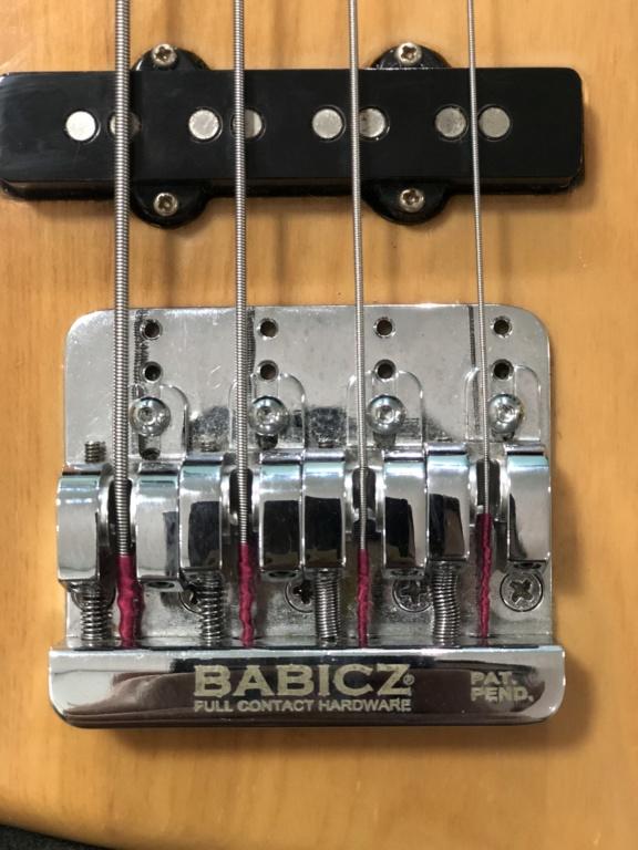 Baixo SX Jazz Bass - Ponte Babicz Img_3811