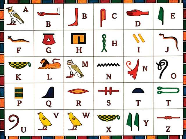 هل تعلم أن المصريين يتحدثون الهيروغليفية حتى اليوم؟  112