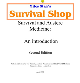 Survival and Austere Medicine Screen24