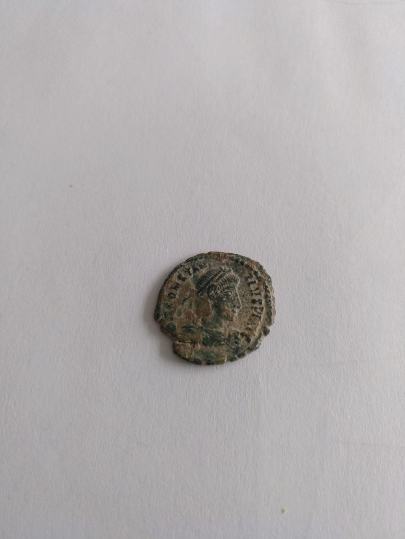 AE3 de Constancio II. FEL TEMP - REPARATIO. Soldado romano alanceando a jinete caído. Roma Img_2027