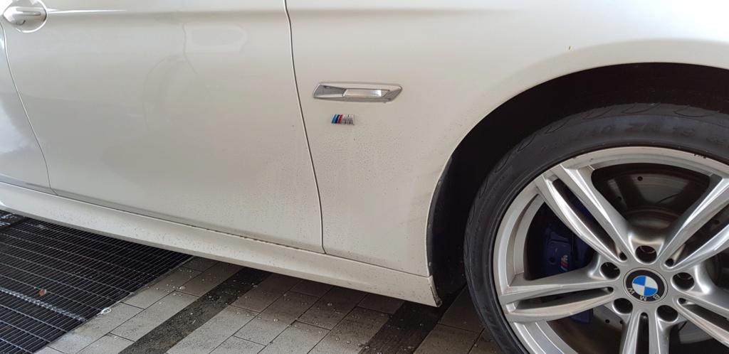 RobyBS vs. la sua BMW ! ... Sporco11