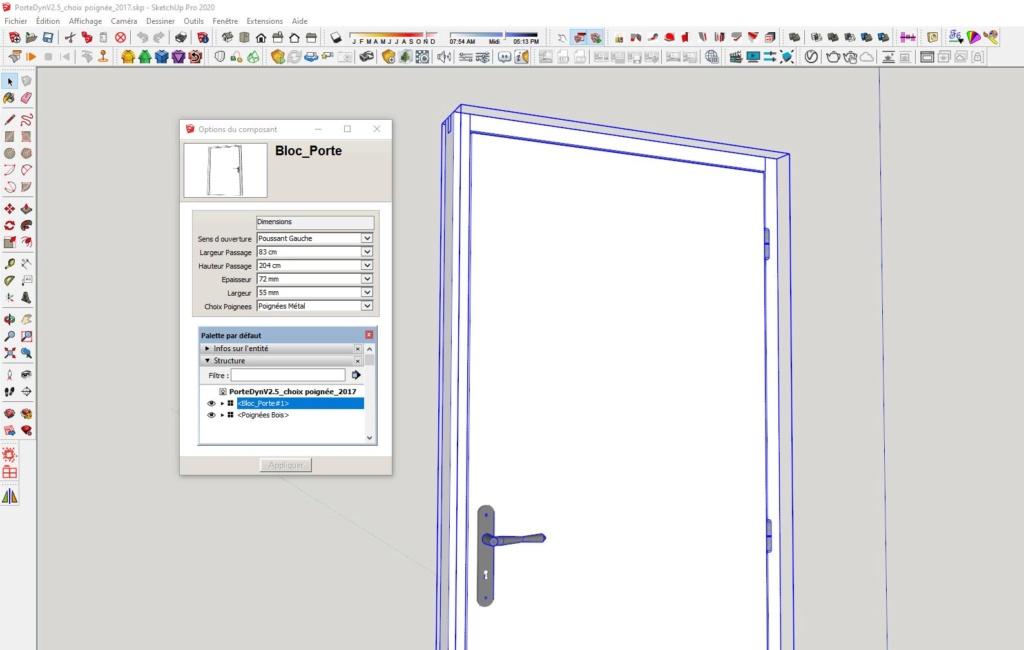 rascal -  [ CHALLENGES ] Challenge thème : Création de composant dynamique sketchup - Rascal - Page 2 Captur56