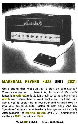 Reverb Fuzz Unit Marshal 02-rev10