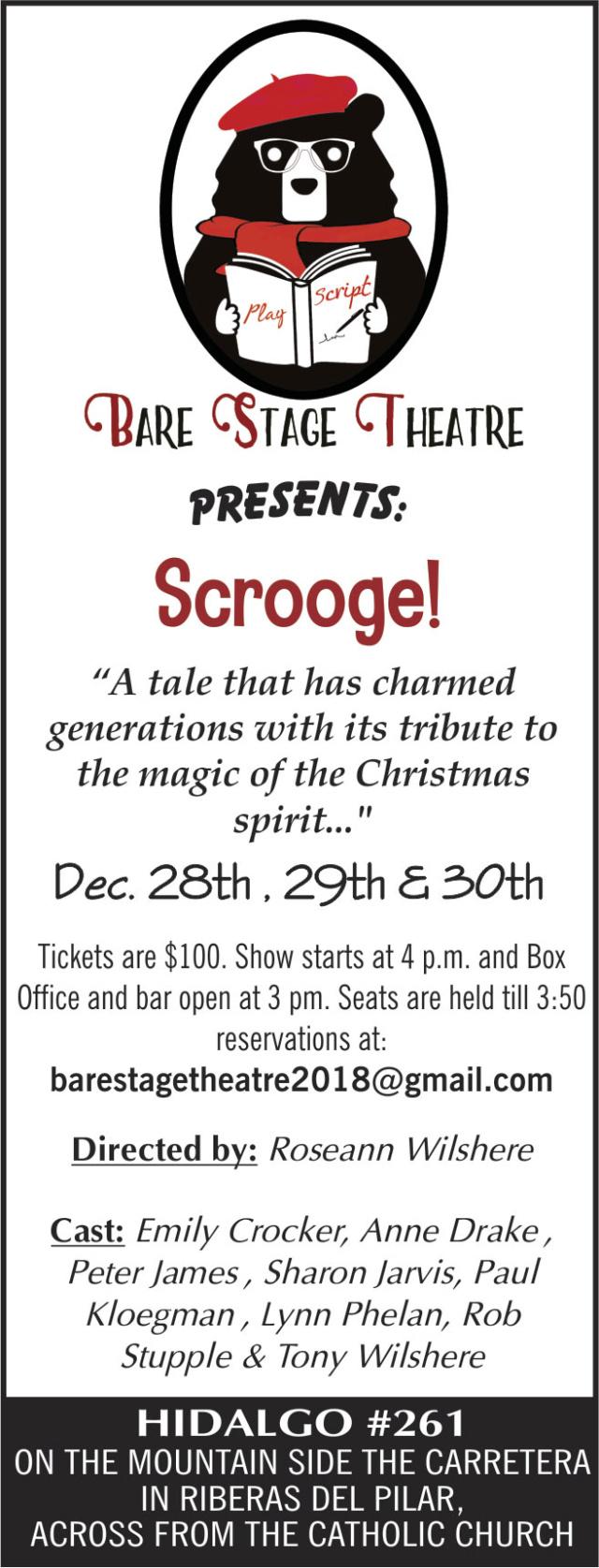 Bare Stage Theatre December Show Bare-s12