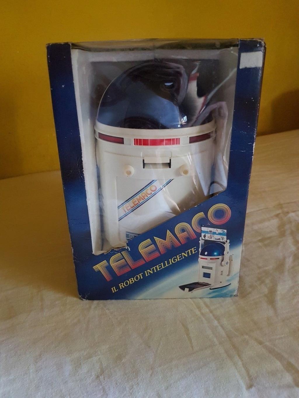 ROBOT VINTAGE TELEMACO COME NUOVO CON SCATOLA 110