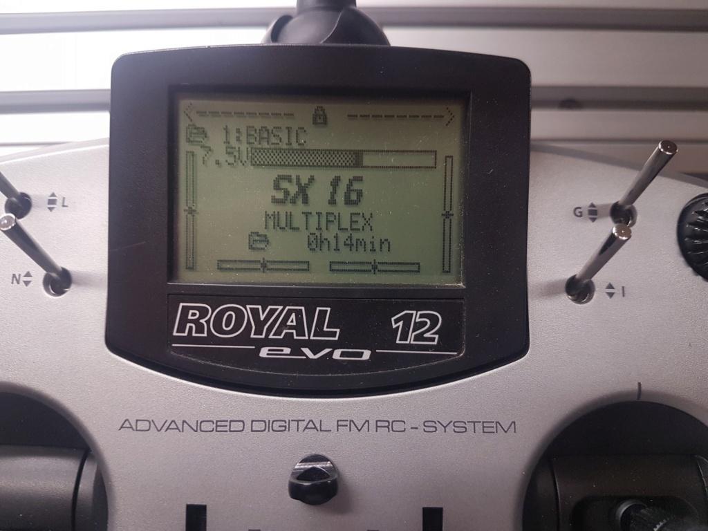 Multiplex Royal EVO 12.............NOUVEAU PRIX 20190213