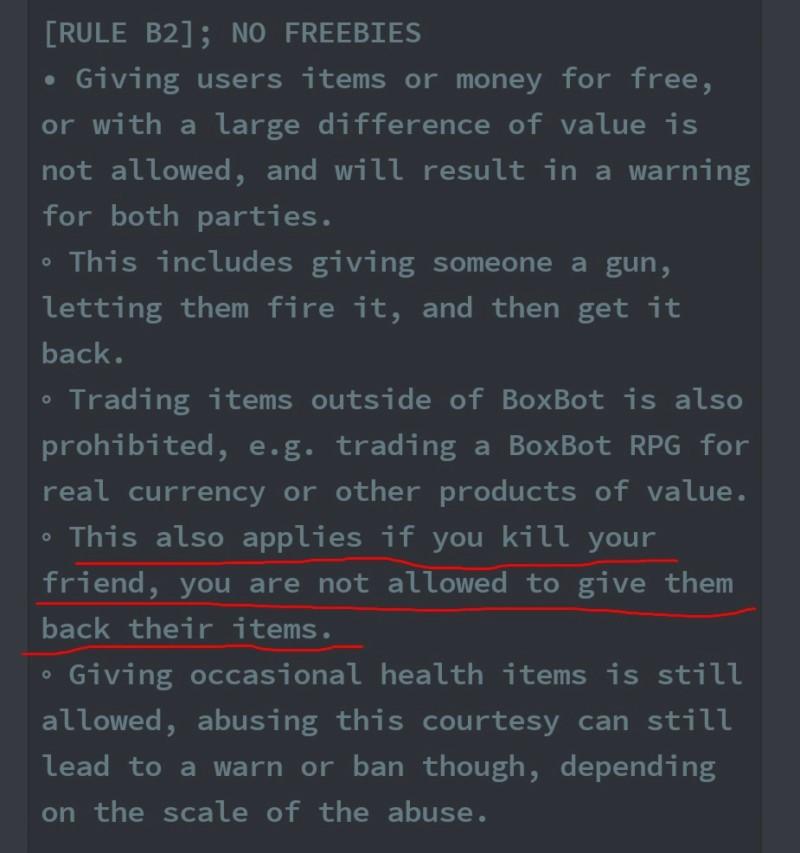 I got trade ban 20181210