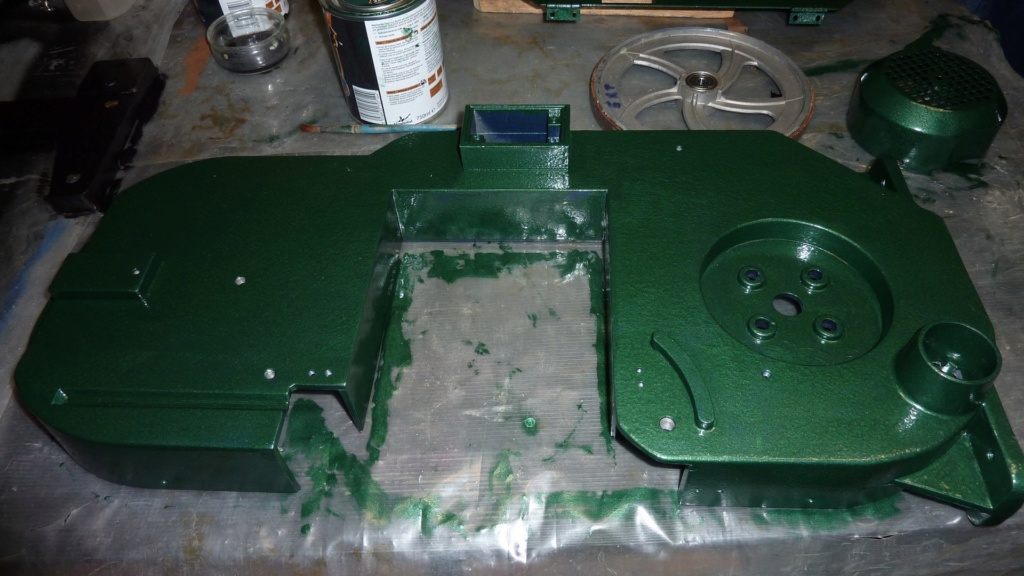 Nouveau projet remise en état d'une petite scie ruban Chinoise  P1120412