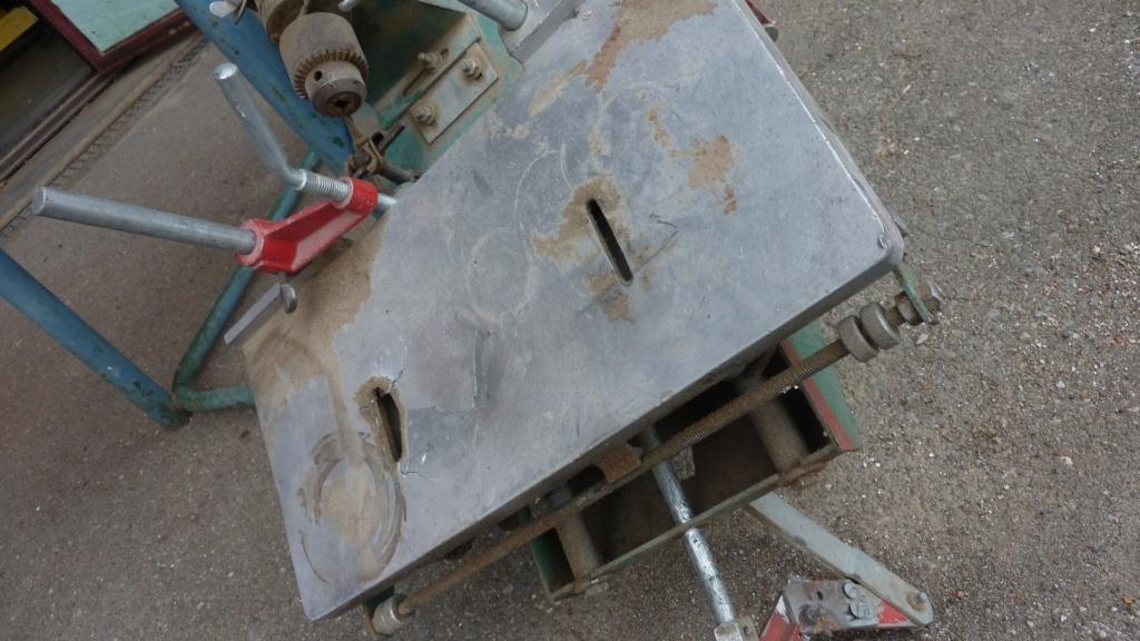 Remise en service tenonneuse Kity 652 P1130614