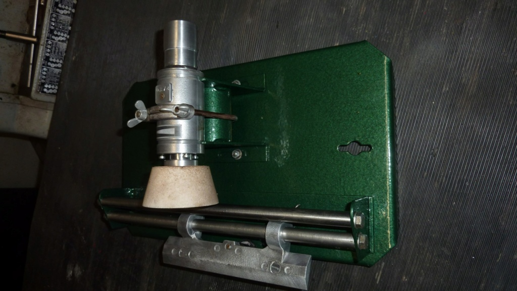 Remise en service affûteuse Kity P1140419