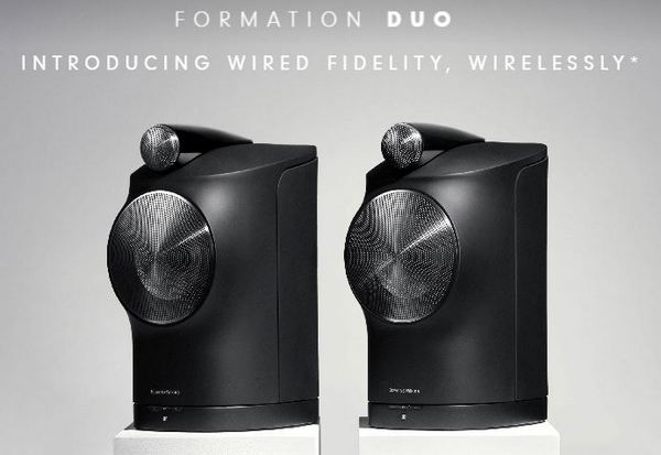 Bower & Wilkins Formation Duo is here! Pre-order now! Duo10