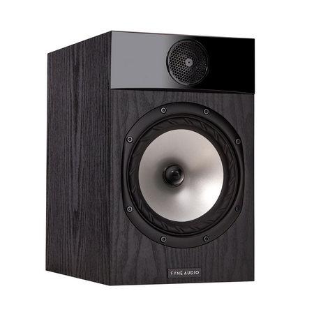 Fyne Audio F301 Black Ash Bookshelf Speakers (1 Pair) F301-310