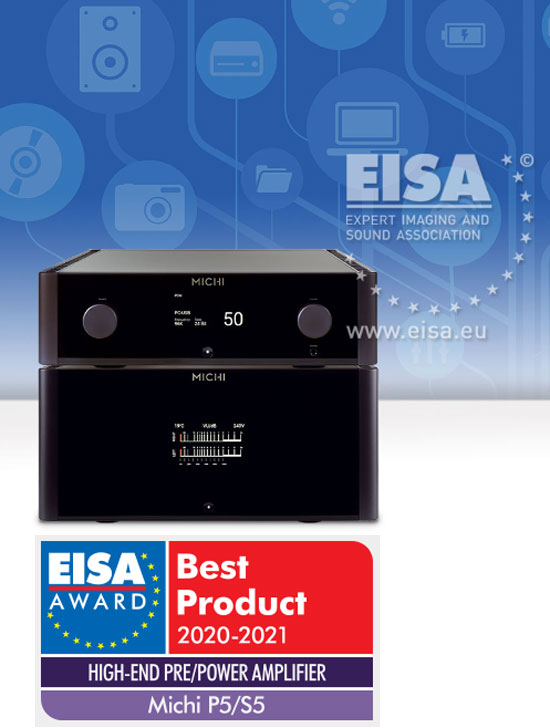 Rotel Michi P5 and S5 - EISA Awarded High-end Pre/Power Stereo Amplifier Michi11