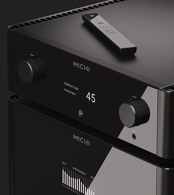 Rotel Michi P5 and S5 - EISA Awarded High-end Pre/Power Stereo Amplifier Michip10