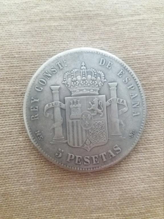 5 pesetas 1882 15512611