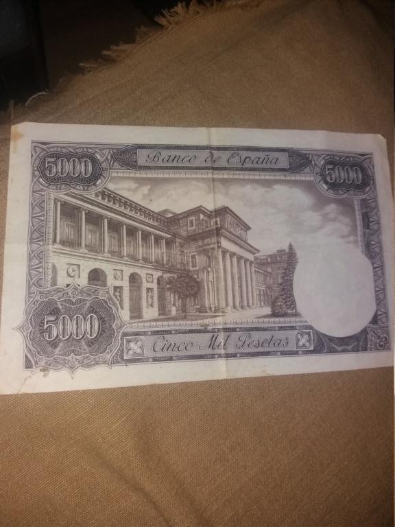 2 billetes de 5000 pesetas 1976 15513013