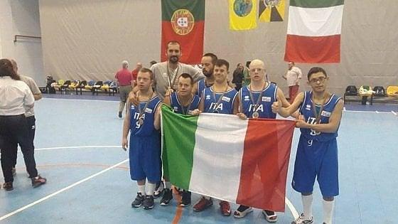 Basket, la nazionale Italiana con sindrome di Down vince il Mondiale! Basket10