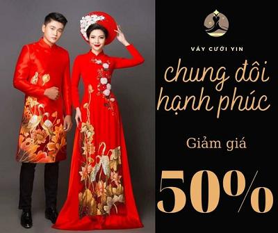 Yin – Chuyên thiết kế áo dài cưới cực chất và xinh nhất Aodai10