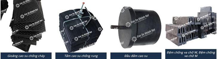 Giới thiệu sản phẩm cao su giảm chấn Khánh Đạt Caosu10