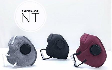 Khẩu trang chống độc thiết kế vải màng lọc thông minh Khaaut10