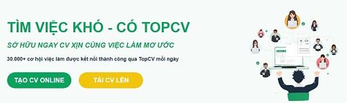 Topcv.vn – Trang tìm việc làm uy tín số 1 Timvie10