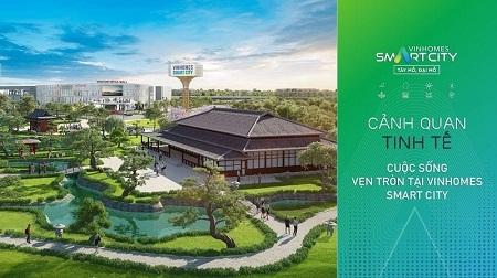 Vinhomes Smart City quy hoạch thông minh toàn diện và ưu việt Vinhom12