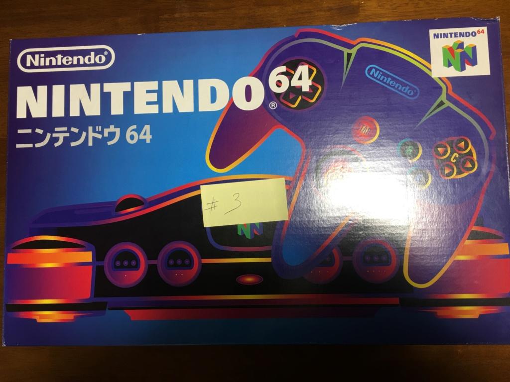 A vendre  N64 Jap x 6 CIB 000f2c10