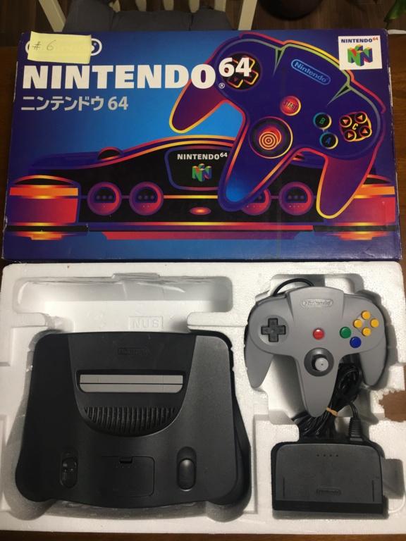 A vendre  N64 Jap x 6 CIB 03502810