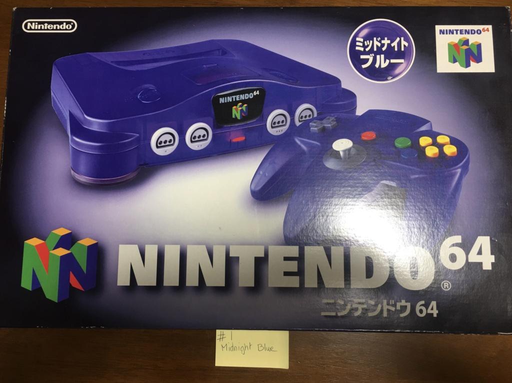 A vendre  N64 Jap x 6 CIB 16d64010