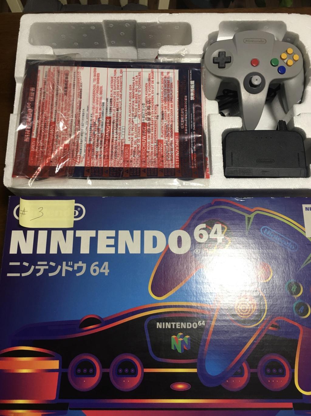 A vendre  N64 Jap x 6 CIB 1bd8e010