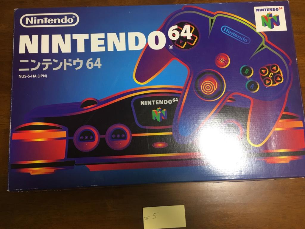 A vendre  N64 Jap x 6 CIB 7a607610
