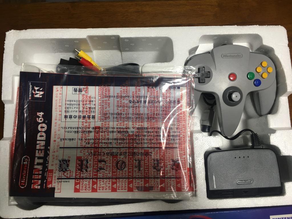 A vendre  N64 Jap x 6 CIB 94731a10