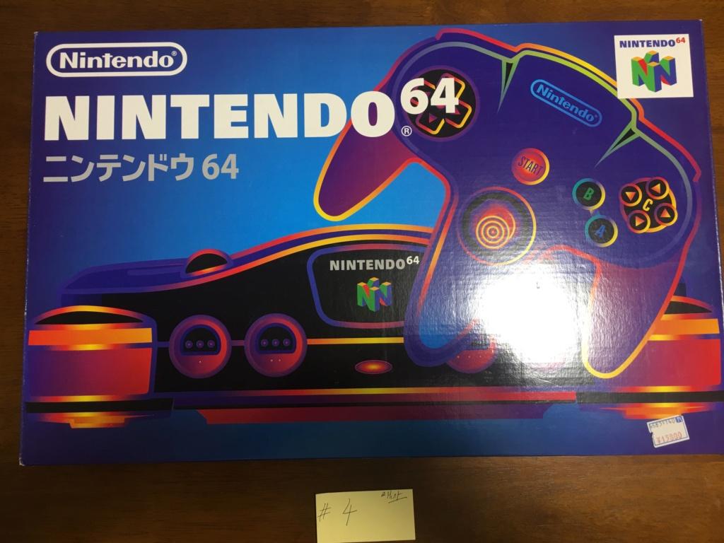 A vendre  N64 Jap x 6 CIB C6250010