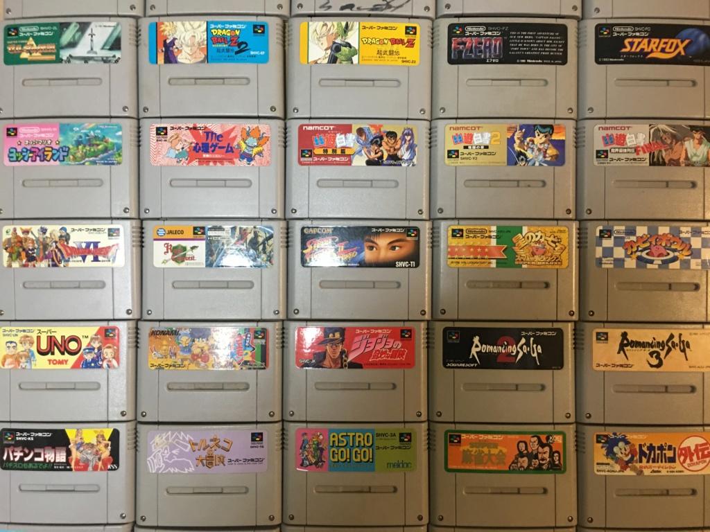 Lot de 50 jeux SFC en loose Img_6314