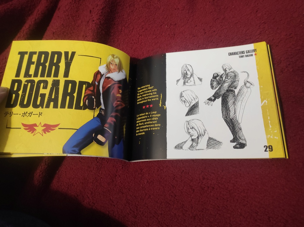 Garou Mark of The Wolves PS4 Édition Pix'n Love - Page 5 611