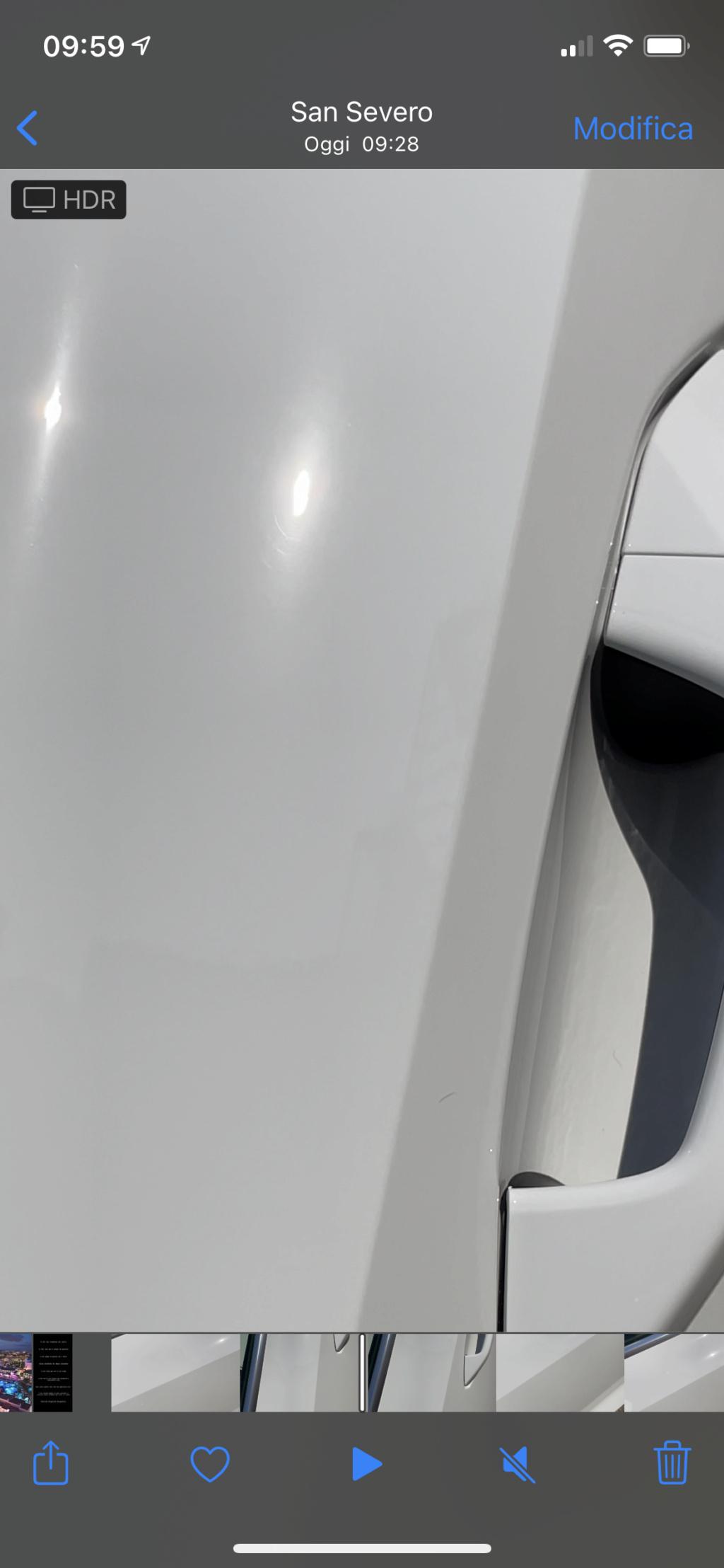 Post lucidatura e applicazione gliss bianco pastello. Dubbi sul risultato A2c84910