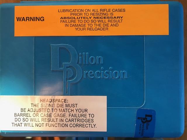 WTB 9X25 Dillon dies. Img_5911