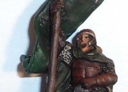 [les combattants du Gouffre] Capitaine monté et son escorte. Banniz10