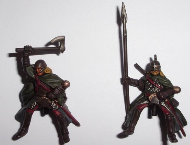 [les combattants du Gouffre] Capitaine monté et son escorte. Cavali10