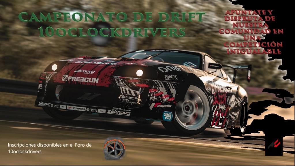 Inscripción Campeonato de Drift Logo_e10