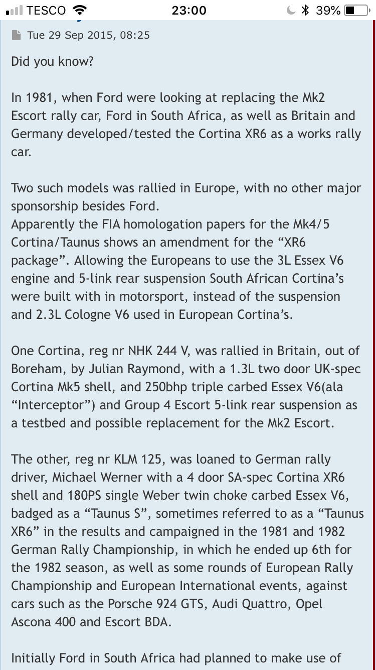 The History of Ford in rallying Cortin10