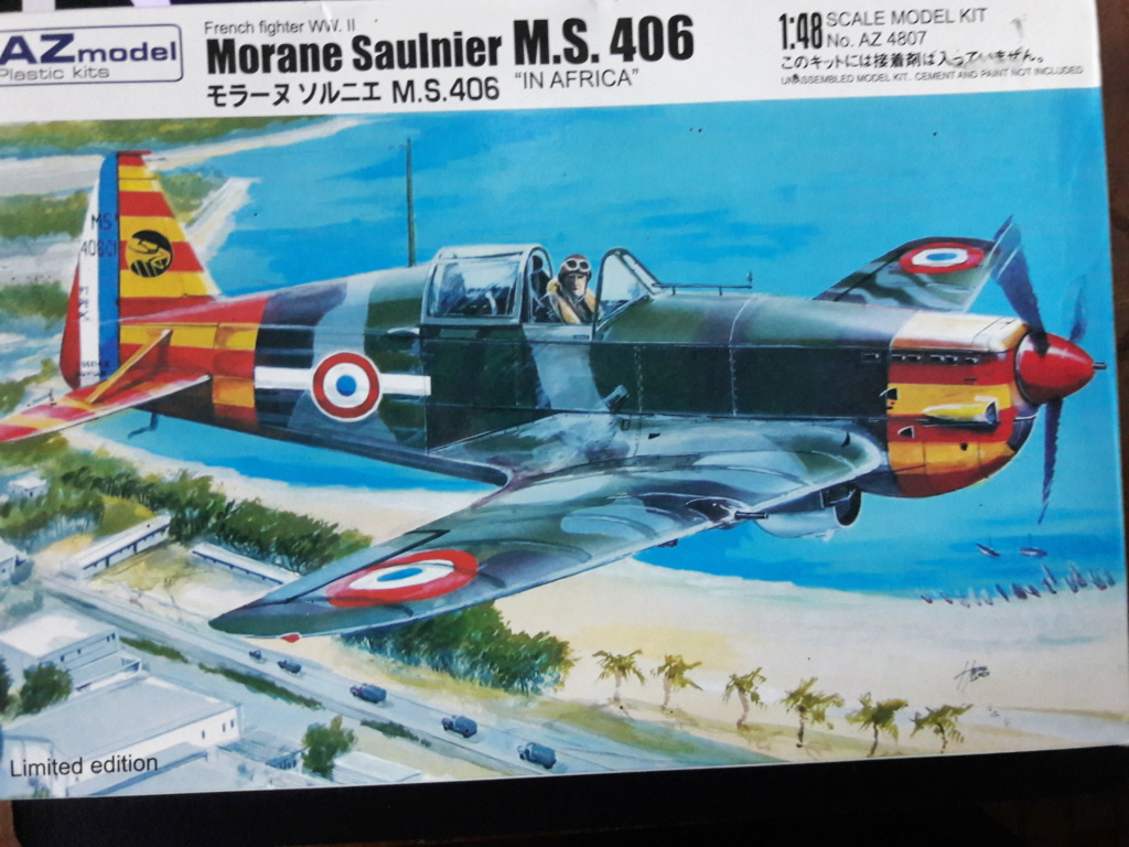 Morane-saulnier Ms406 AZ-model 1/48 Img_2193