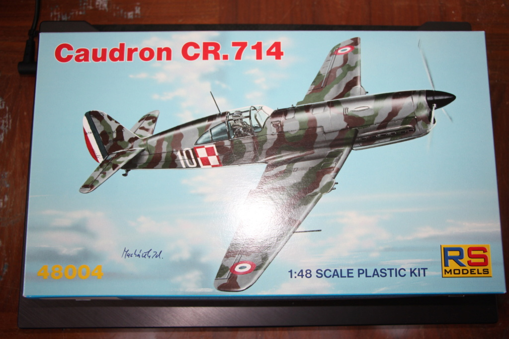 Ouvre-boîte Caudron cr.714 RSmodel 1/48 Img_9756