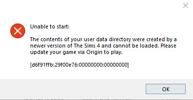 ''Origin'' error. Fsfgyt11