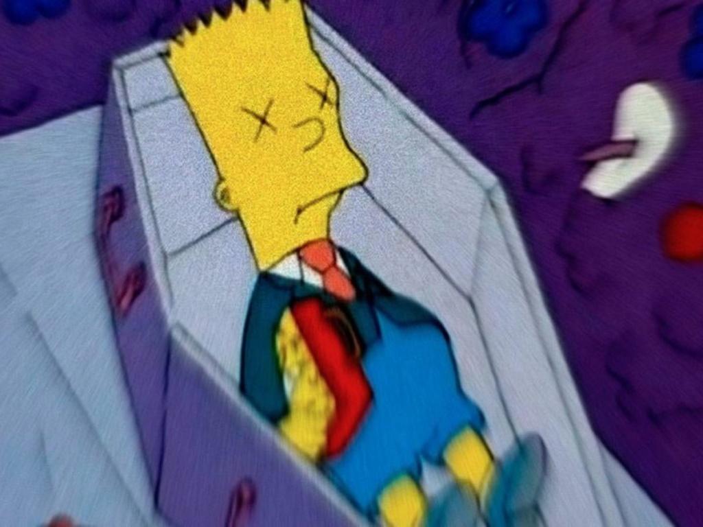 Episódio Perdido de Simpsons: A Morte de Bart  - Creepypasta Entre_16